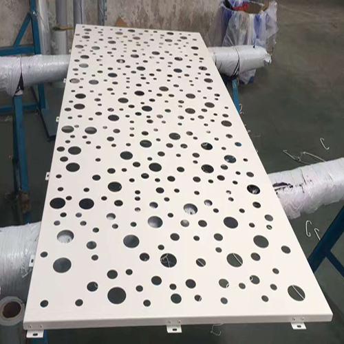 双弧冲孔铝单板